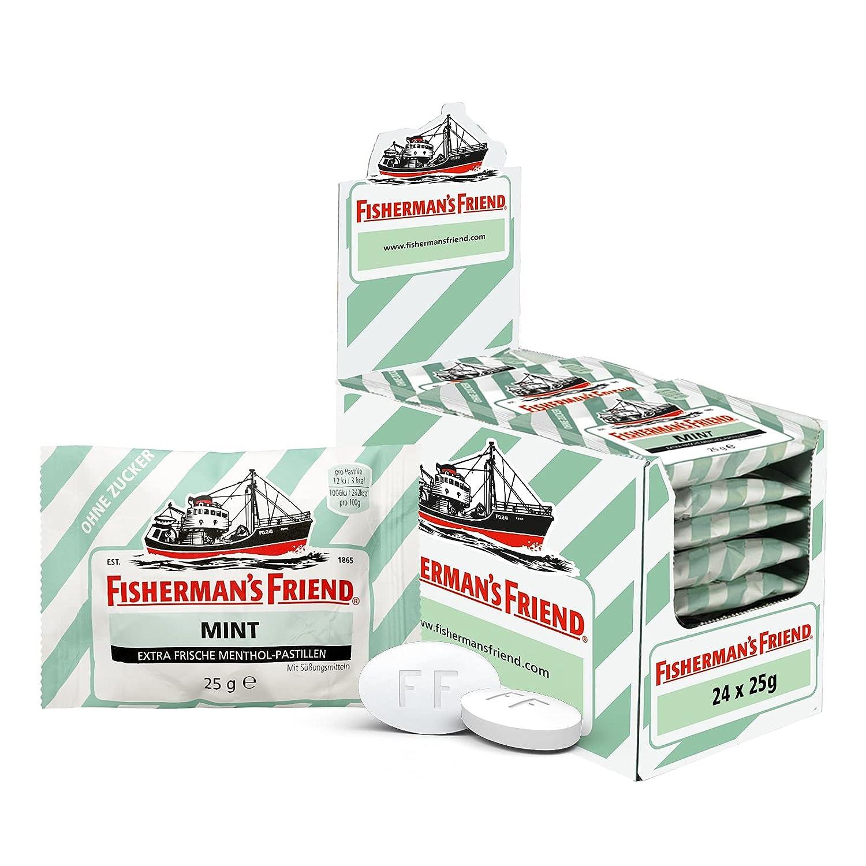 Fisherman's Friend Mint   Karton mit 21 Beuteln   Minze und ...