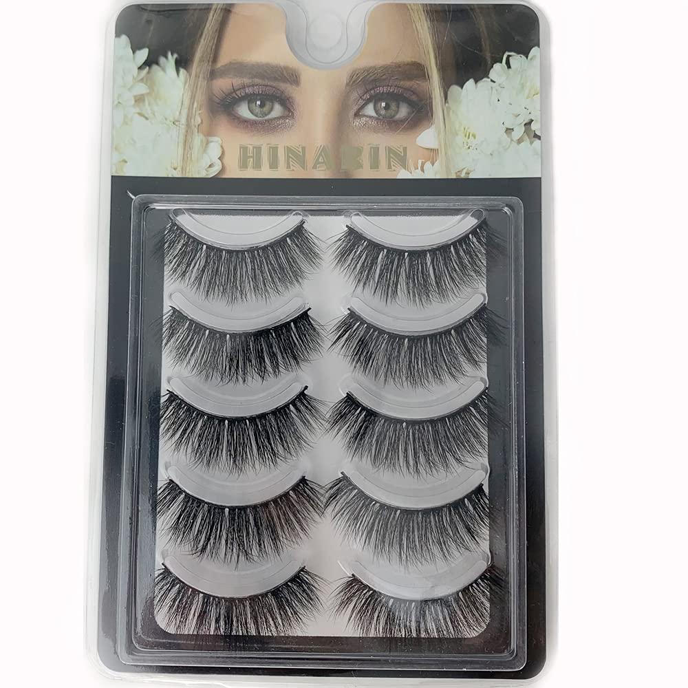 Hinarin Mink Eyelashes OFFicial Ultra-Cheap Deals Natural Look 100% a Handmade 3D Long Soft
