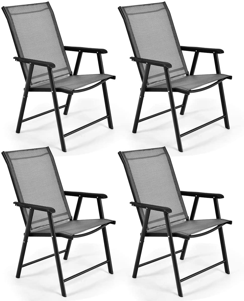 S AFSTAR Folding sold out 4 years warranty Patio Chairs Chair with Portable for Armrests