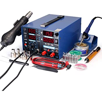 Soldering Rework Station Iron 907O for YIHUA 8786D 853D 1A USB AU Stock