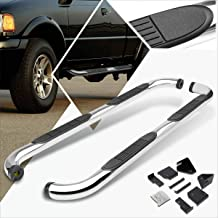 3 Inches Chrome Running Board Side Step Nerf Bar Compatible with Ford Ranger Ext/Super Cab 98-11