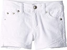 Side Slit Shorty Shorts (Little Kids)