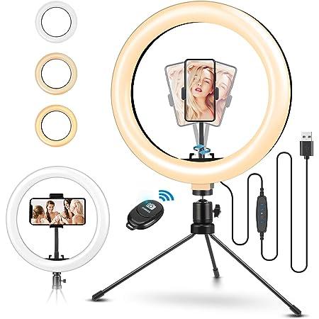 Led Ringlicht Stativ Elegiant 10 2 Selfie Ringleuchte Kamera