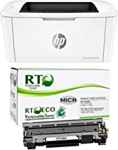 Renewable Toner Laserjet M15w Check Printer Bundle with Compatible HP CF248A 48A MICR..