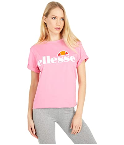 Ellesse Albany T-Shirt (Morning Glory Pink) Women
