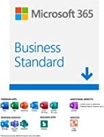 Microsoft 365 Business Standard |Email delivery in 1 hour| 12-Month Subscription, 1 person | Premium Office apps with...