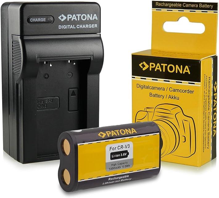 Cargador + Batería CR-V3 para Kodak EasyShare C300 | C310 | C315 | C330 | C340 | C360 | C433 | C503 | C530 | C533 | C603 | C633 | C643 | C653 | C663 | C703 | C743 | C875 | CD33 | CD40 | CD43| CX4200 | CX4210 | CX4230 | CX4300 | CX4310 | CX6200 | CX6230 | CX6330 | CX6445 | CX7220 | CX7300 | CX7310 | CX7330 y mucho más…