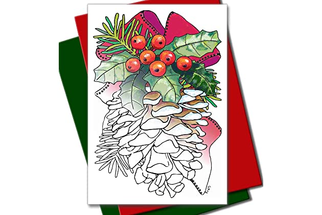 Best coloring greeting cards for adults | Amazon.com