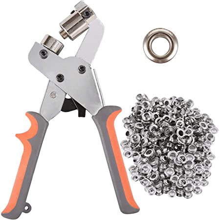 GROMMET EYELET HOLE PUNCH SETTING TOOL PROTECH HEAVY DUTY
