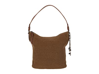 The Sak Sequoia Crochet Hobo (Taupe) Hobo Handbags