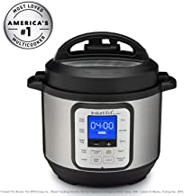 Instant Pot® Duo™ Nova™ 3-Quart 7-in-1, One-Touch Multi-Use Programmable Pressure Cooker, Slow Cooker, Rice Cooker, Steamer, Sauté, Yogurt Maker and Warmer with New Easy Seal Lid