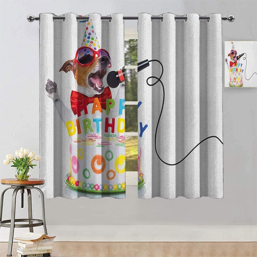 Bluexotic Kids 人気急上昇 Birthday Room Darkening Curtains セール特価 Musici