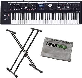 Roland VR-09-B V-Combo Live Performance Organ Keyboard Bundle w/Stand