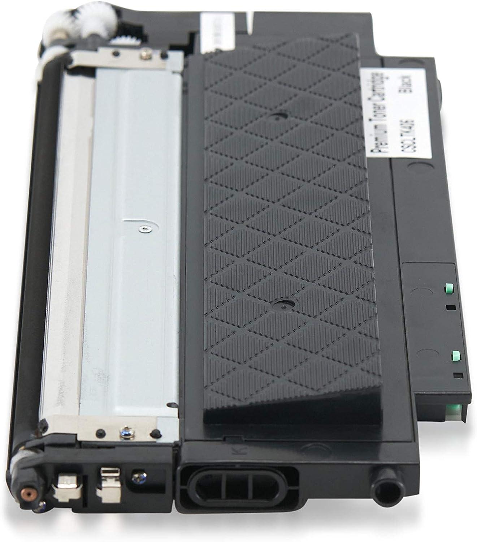 CLT-M406S C,M,Y,K,4 Pack CLT-C406S USA Advantage Compatible Toner Cartridge Replacement for Samsung CLT-406S CLT-K406S CLT-Y406S