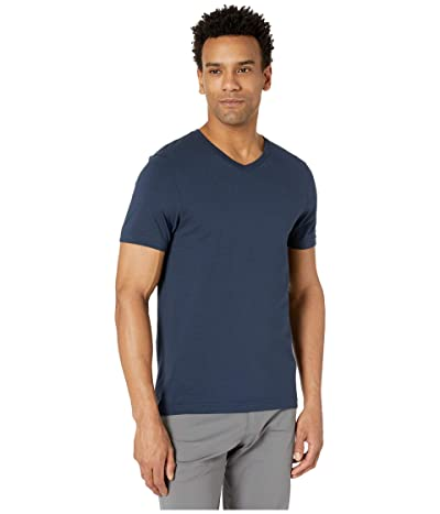 Rhone Element V-Neck Tee (Navy) Men