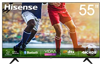 Hisense 55inch 55A7120FS 4K UHD Ultra HD Smart TV VIDAA 3.0 Dolby Vision Blutooth 5.3 Wifi Shahid VIP OSN