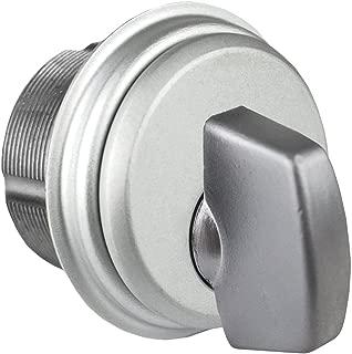Storefront Door Mortise Lock Cylinder Thumbturn Adams Rite Cam in Aluminum