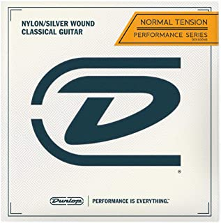 Dunlop DCV100NS Performance Normal Tension Nylon/Silver Classical Acoustic Guitar Strings 6-Strings Set