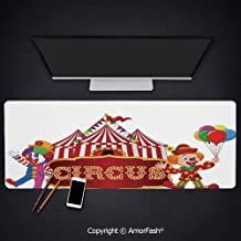 Anti-Fray Cloth Gaming Mouse Pad - High-Performance Mouse Pad Optimized for Gaming Sensors,31.5