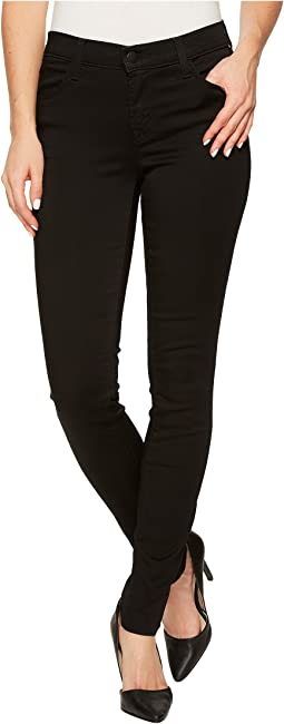 J Brand - 620 Mid-Rise Super Skinny in Black