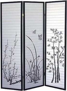 ORE International 3-Panel Room Divider, Scenery