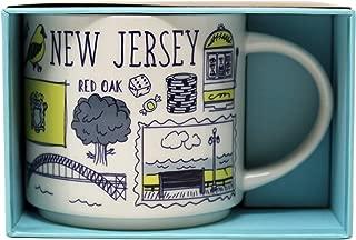 Starbucks New Jersey Mug Been There Series Across the Globe Collection Mug, 14 Oz