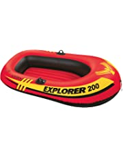 INTEX(インテックス) ボート エクスプローラー 200 SET 185×94×41cm 58331 オール・ポンプ付属 [日本正規品]