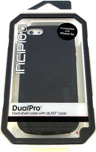 wholesale Incipio sale DualPro Dual Layer Case for Apple iPhone 5c - Black 2021 - IPH-1134-BLK-V online