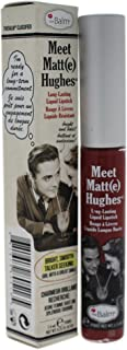 theBalm Meet Matte Hughes Long-Lasting Liquid Lipstick, Charming, Lightweight Matte Finish