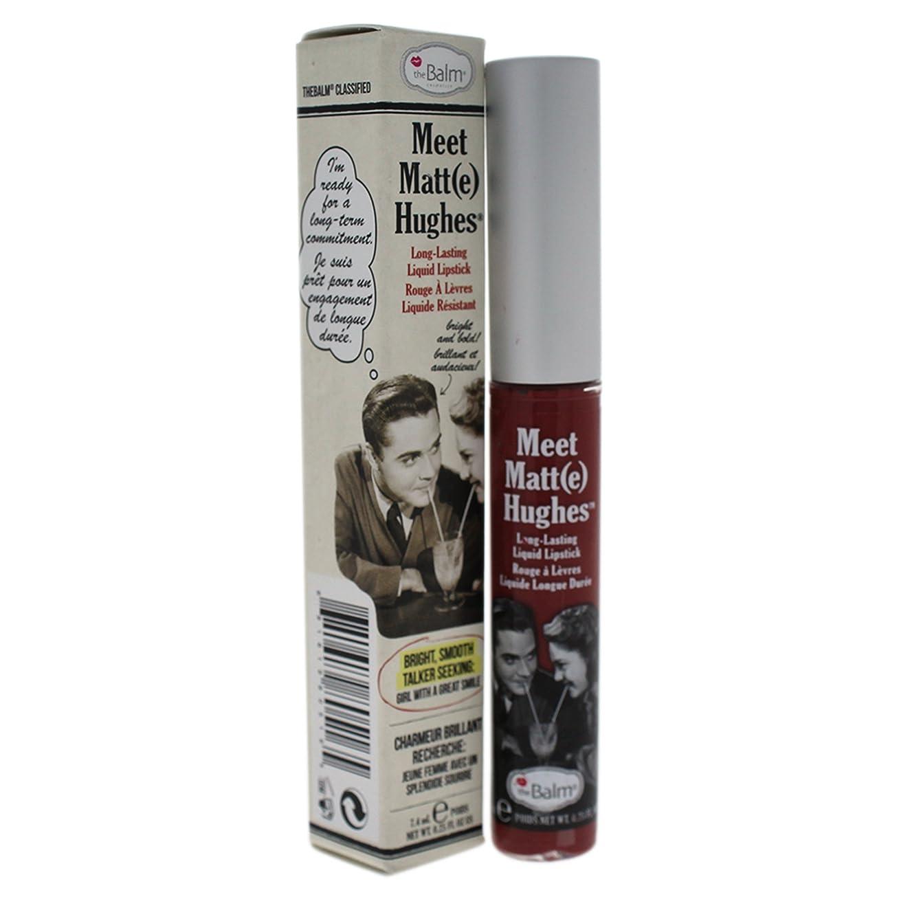 メンバー懸念アイロニーザバーム Meet Matte Hughes Long Lasting Liquid Lipstick - Charming 7.4ml/0.25oz並行輸入品