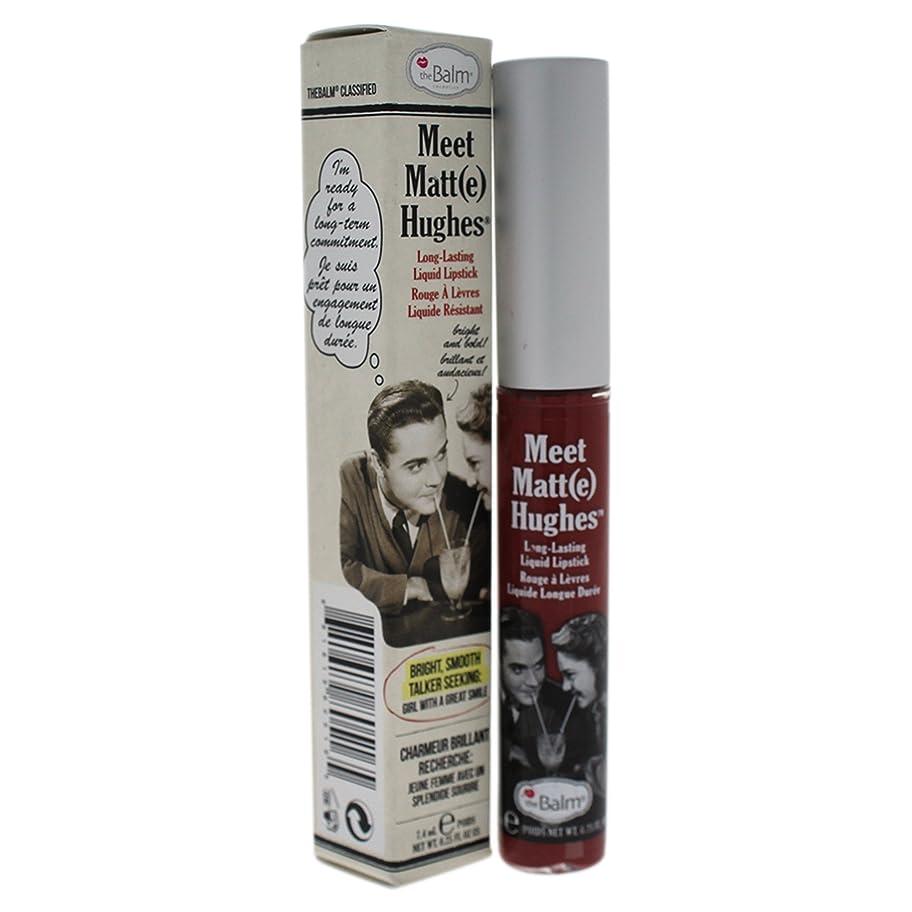 許可鉄道推測ザバーム Meet Matte Hughes Long Lasting Liquid Lipstick - Charming 7.4ml/0.25oz並行輸入品
