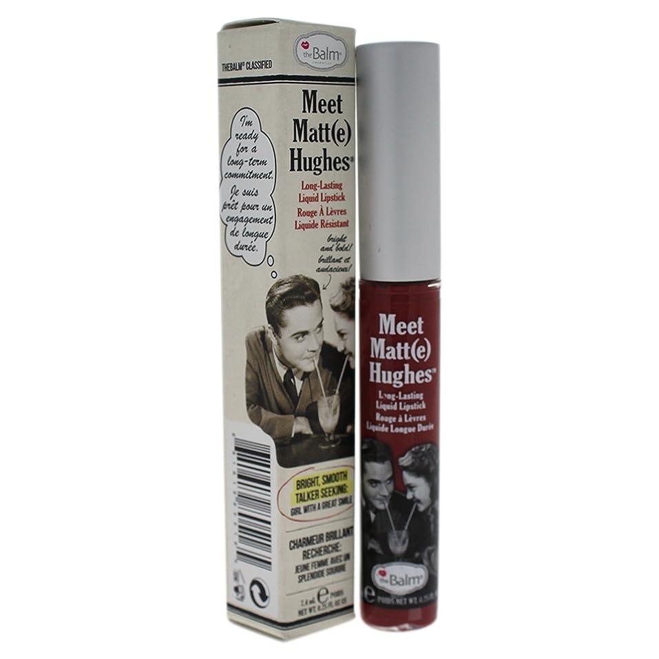 ジャングル一般的に重荷ザバーム Meet Matte Hughes Long Lasting Liquid Lipstick - Charming 7.4ml/0.25oz並行輸入品