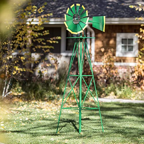 lowest SMV lowest Industries 8 ft. 2021 Windmill - Green and Yellow online