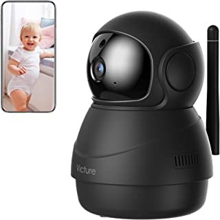 Victure 1080P FHD WiFi IP Camera Indoor Wireless Security Camera Motion Detection Night Vision Home Surveillance Monitor 2...