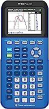 ماشین حساب گرافیک CE Texas Instruments 84PLCE / TBL / 1L1 / X TI-84 Plus CE ، Bionic Blue
