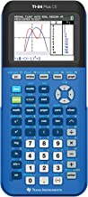 Texas Instruments 84PLCE/TBL/1L1/X TI-84 Plus CE Graphing Calculator, Bionic Blue
