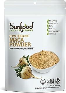 Sunfood Maca Powder, 8 Ounces, Organic, Raw