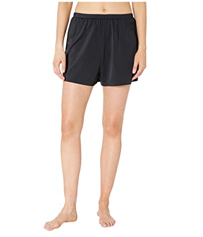 Maxine of Hollywood Swimwear Solids Separate Jogger Short Bottoms (Black) Women