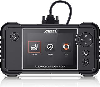 ANCEL FX3000 Automotive OBD II Scanner Vehicle Check Engine Transmission SRS ABS OBD2 Code Reader Car EPB Oil Service Light SAS ABS BMS Reset Diagnostic Scan Tool