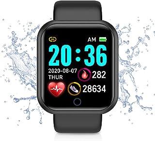Smartwatch Orologio Sportivo Fitness Tracker Uomo Donna,Bluetooth Smart Watch TouchScreen Completo Cardiofrequenzimetro da...