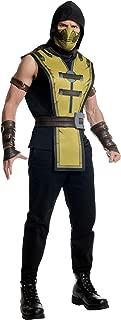 Costume Co Men's Mortal Kombat X Scorpion Costume