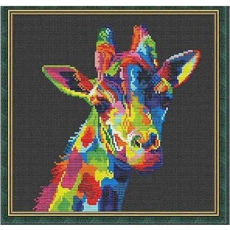 Counted Cross Stitch Kit RIOLIS Giraffes