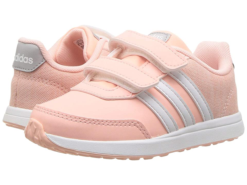 adidas Kids VS Switch 2 CMF (Infant/Toddler) (Haze Coral/White/Grey Two) Kids Shoes