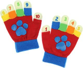 PAW Patrol by Nickleodeon Learning Colors Numbers and Math Toddler Winter Gloves