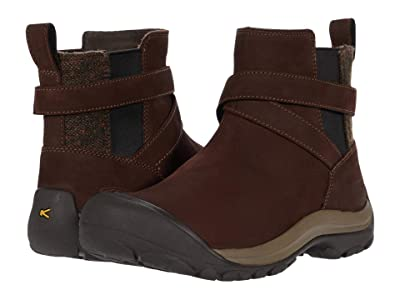 KEEN Kaci II Winter Pull-On Boot (Chestnut/Canteen) Women