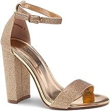 Best shimmer block heels Reviews