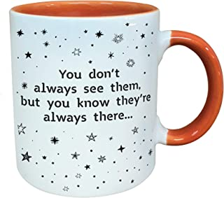Good Friends Are Like Stars, They Are Always There Coffee Mug -11oz.- Novelty Gift Cup for Women, Girlfriend, Long Distanc...