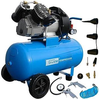 Güde Druckluft Kompressor Set 400/10/50 12 tlg. 10 bar