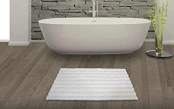 "Spaces Swift Dry Cotton Bath Mat - 16""x24"", Pearl"