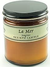 Olympic Candle Parfum De Maison Soy Candle, 8 oz, Seagrass
